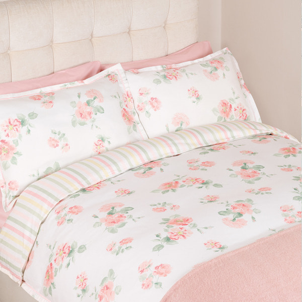 알버틴 블러쉬 이불커버K ALBERTINE BLUSH PRINTED DUVET COVER