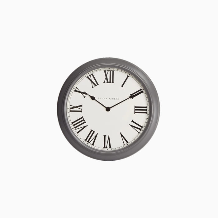 갤러리 차콜 벽시계  OVERSIZED GALLERY CLOCK CHARCOAL(62CM)