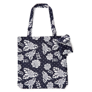 미야로즈 가방  Miya Rose Floral Spot Fold Away Bag