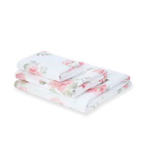 알버틴 블러쉬 타월 ALBERTINE PRINTED BLUSH BATH TOWEL