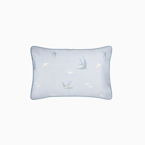블루 버드 베개커버(HW) Bluebirds Printed Housewife Pillowcase