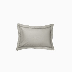 메들린 도브그레이 베개커버(OX) Madeline OXford Pillowcase Dove Grey